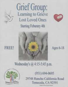 Grief Therapy Group