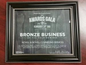 TVCC Bronze Business Nomination