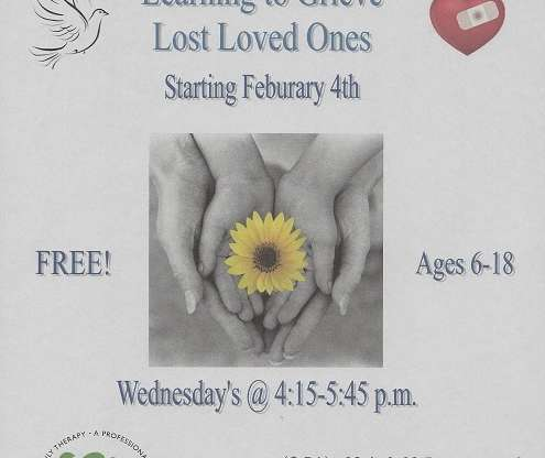 Grief Group: Learning to Grieve Lost Loved Ones